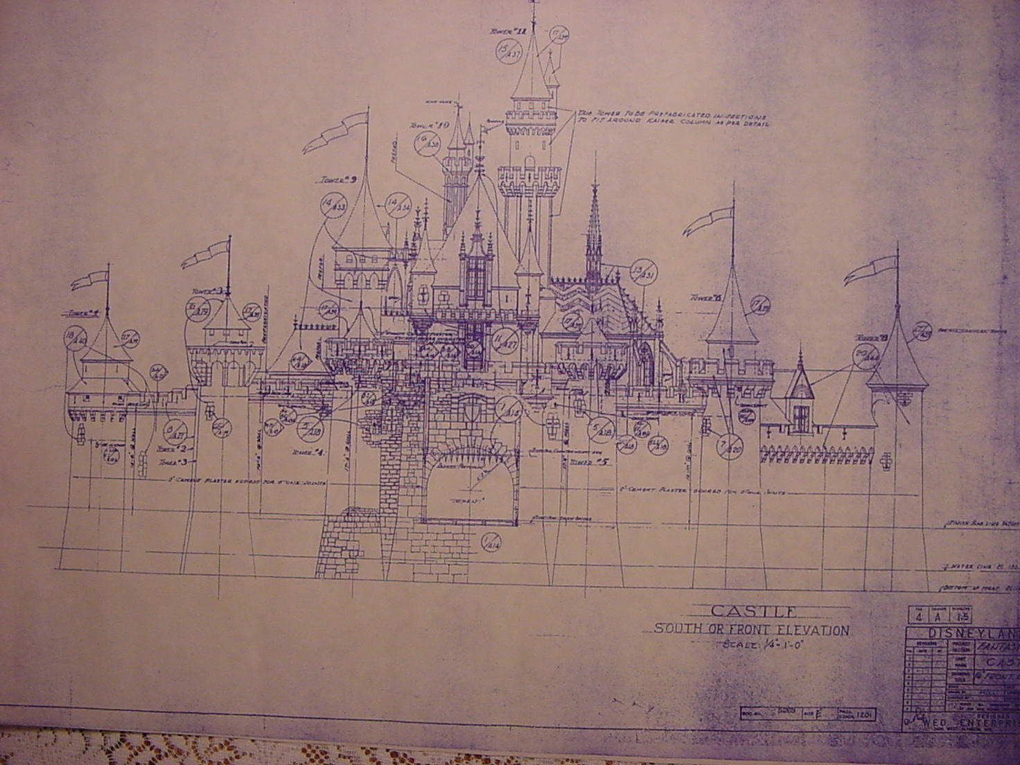 Disneyland 39 S Fantasyland Blueprints