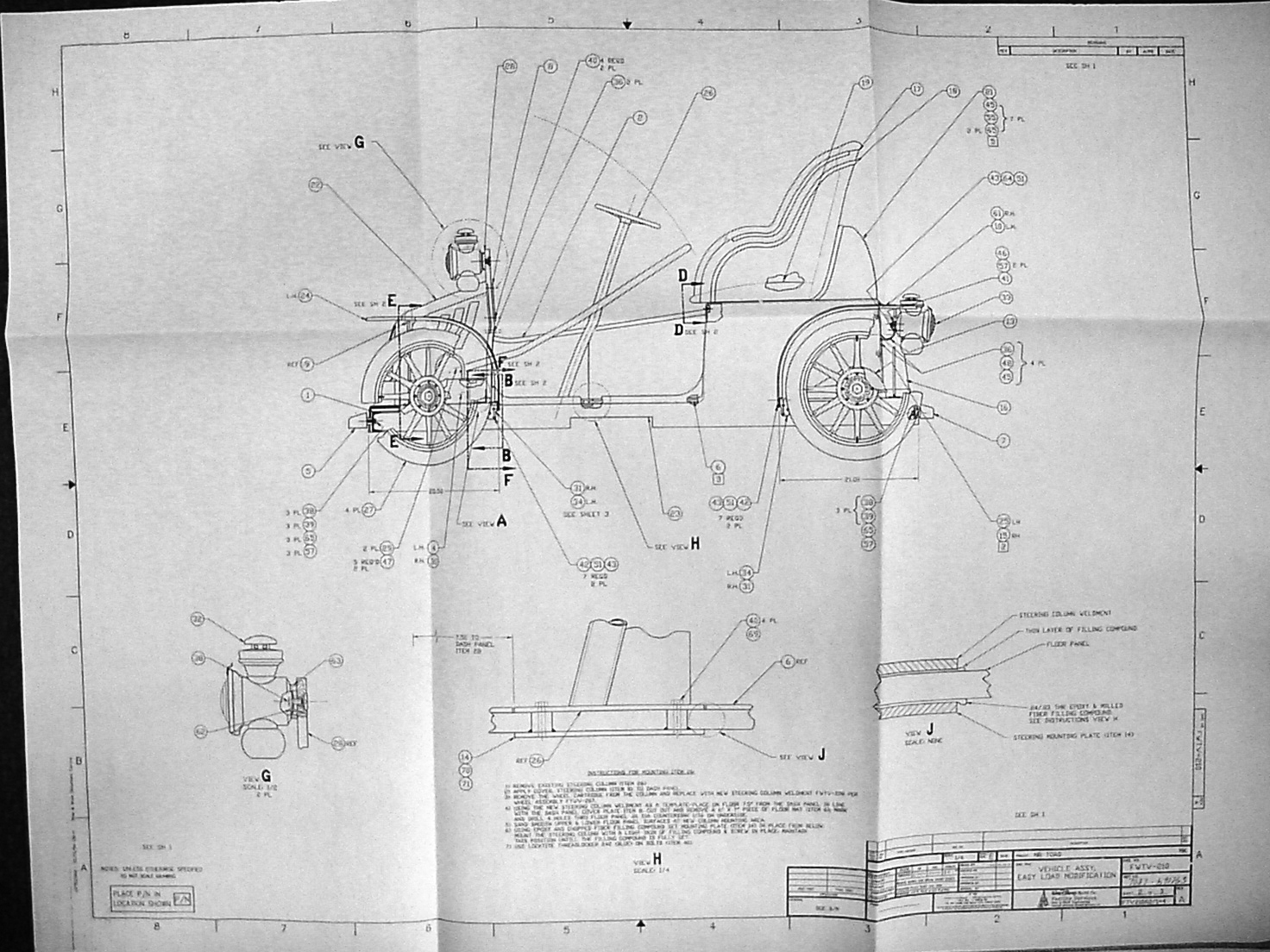 Walt Disney World Fantasyland Blueprints